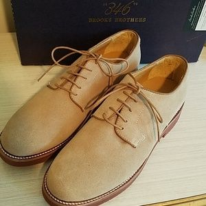 Brooks Brothers Suede Oxfords